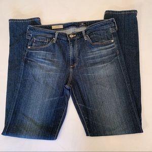 AG The Prima Mid Rise Cigarette Leg Jeans, Size 30